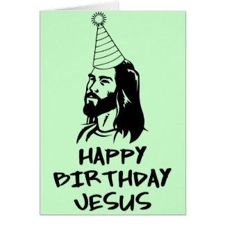Feliz cumpleaños Jesús Tarjeta