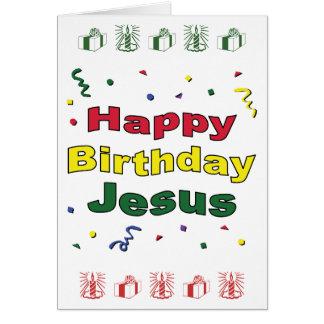 Feliz cumpleaños Jesús Felicitación