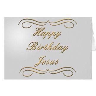 Feliz cumpleaños Jesús Tarjeton