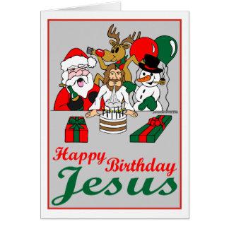 Feliz cumpleaños Jesús Tarjeta De Felicitación