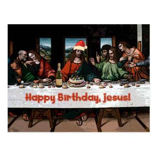 ¡Feliz cumpleaños, Jesús! Postal