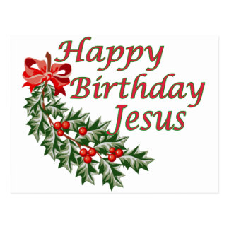 Feliz cumpleaños Jesús Tarjetas Postales