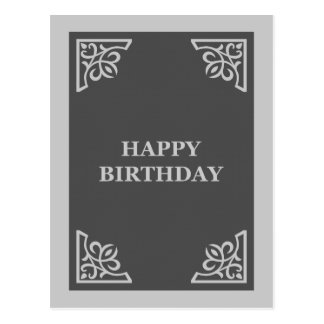 feliz cumpleaños (libro de recuerdos) postal