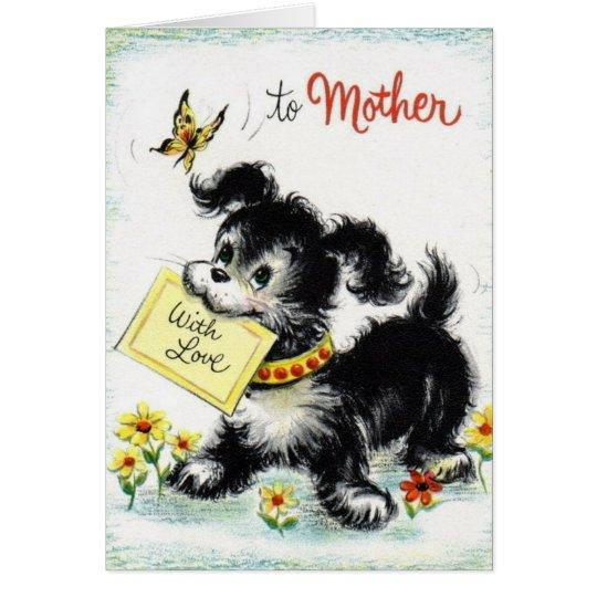 Feliz cumpleaños - madre tarjeta de felicitación