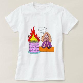 Feliz cumpleaños mi #&*@ - la camiseta básica de