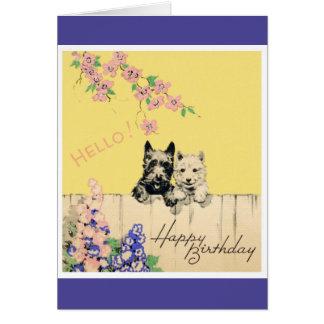 Feliz cumpleaños - niño joven tarjeta de felicitación