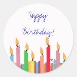 Feliz cumpleaños - pegatina