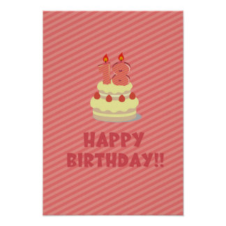 ¡Feliz cumpleaños!! (por 18 años) Posters
