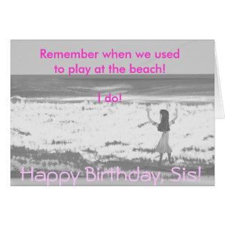 ¡Feliz cumpleaños, SIS! Tarjeta De Felicitación