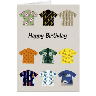 Feliz cumpleaños tarjetón