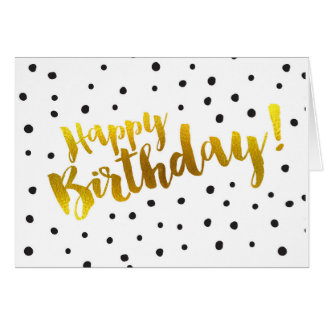 Feliz cumpleaños - tarjeta de felicitación