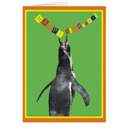 ¡Feliz cumpleaños! Tarjeta divertida del collage