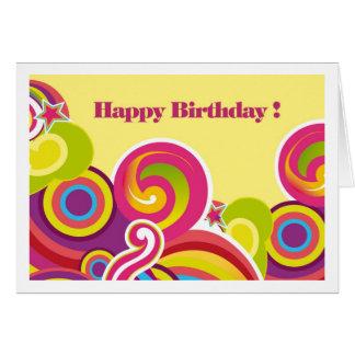 Feliz cumpleaños. Tarjetas de felicitación