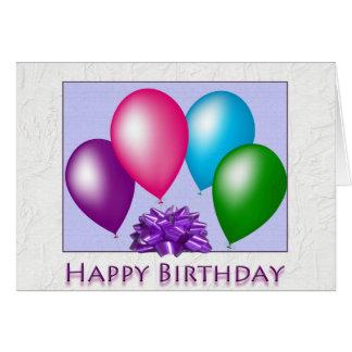 Feliz cumpleaños todos nosotros tarjeta de felicitación