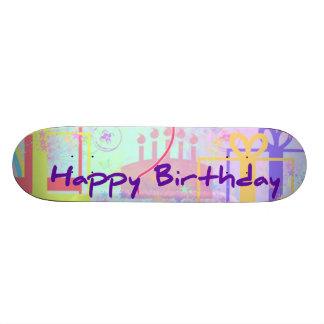 Feliz cumpleaños y recuerdos un impulso monopatín 18,7 cm