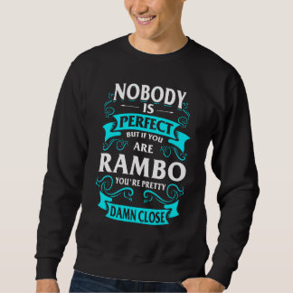 Feliz de ser camiseta de RAMBO