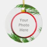 Feliz decoración del árbol de navidad (marco de la adorno de navidad