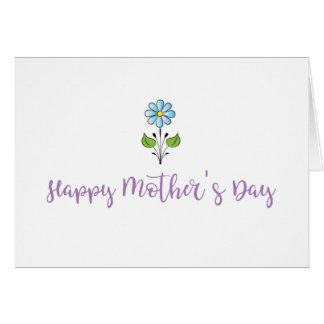 ❤️ feliz del día de madre mi estimada mamá dulce tarjeta