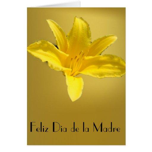 Feliz Dia de la Madre 3 Tarjeta