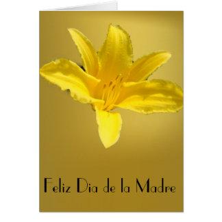 Feliz Dia de la Madre 3 Tarjeta De Felicitación