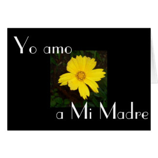 Feliz Dia de la Madre 8 Tarjeta De Felicitación