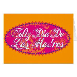 Feliz Dia De Las Madre Tarjeta De Felicitación