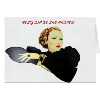 feliz dia de las madres Carta Tarjeta De Felicitación