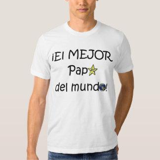 ¡¡Feliz día del padre - mejor del EL de los eres! Camisetas
