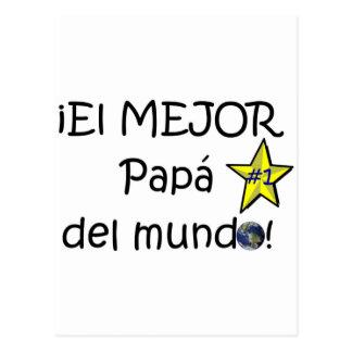 ¡¡Feliz día del padre - mejor del EL de los eres! Postal