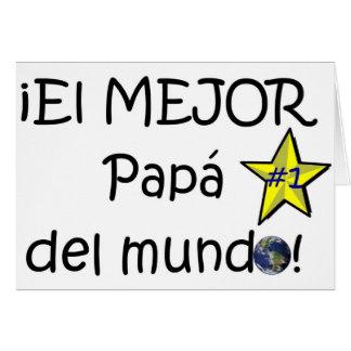 ¡¡Feliz día del padre - mejor del EL de los eres! Tarjeton