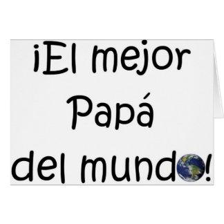 ¡¡Feliz día del padre - mejor del EL de los eres! Felicitaciones