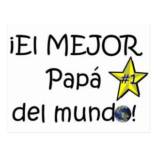 ¡¡Feliz día del padre - mejor del EL de los eres! Tarjetas Postales