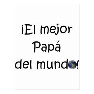 ¡¡Feliz día del padre - mejor del EL de los eres! Tarjeta Postal