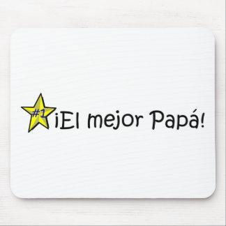 ¡¡Feliz día del padre - mejor del EL de para! Alfombrilla De Raton
