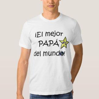 ¡¡Feliz día del padre - mejor del EL de para! Camisas