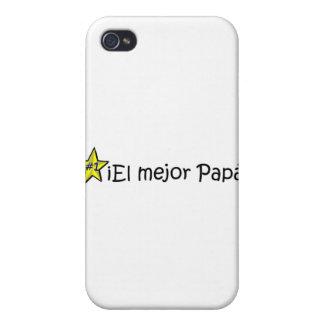 ¡¡Feliz día del padre - mejor del EL de para! iPhone 4 Fundas