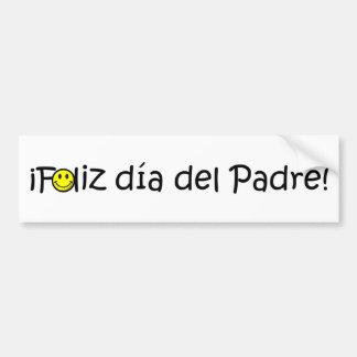 ¡¡Feliz día del padre - mejor del EL de para Pegatina De Parachoque