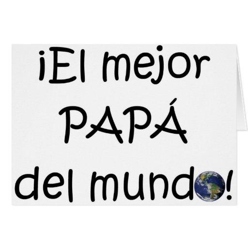 ¡¡Feliz día del padre - mejor del EL de para! Felicitaciones