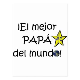 ¡¡Feliz día del padre - mejor del EL de para! Tarjetas Postales