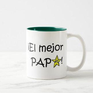 ¡¡Feliz día del padre - mejor del EL de para Taza De Café