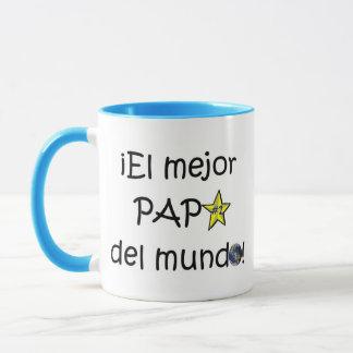 ¡¡Feliz día del padre - mejor del EL de para! Taza