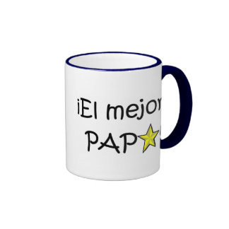 ¡¡Feliz día del padre - mejor del EL de para! Taza A Dos Colores