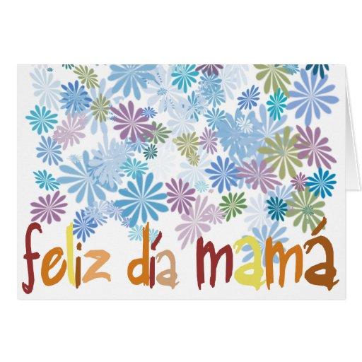 Feliz día mamá felicitación