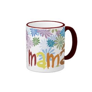 Feliz día mamá taza de dos colores