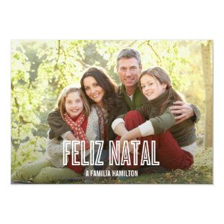Feliz feriado natal cartões de fotos anuncios personalizados