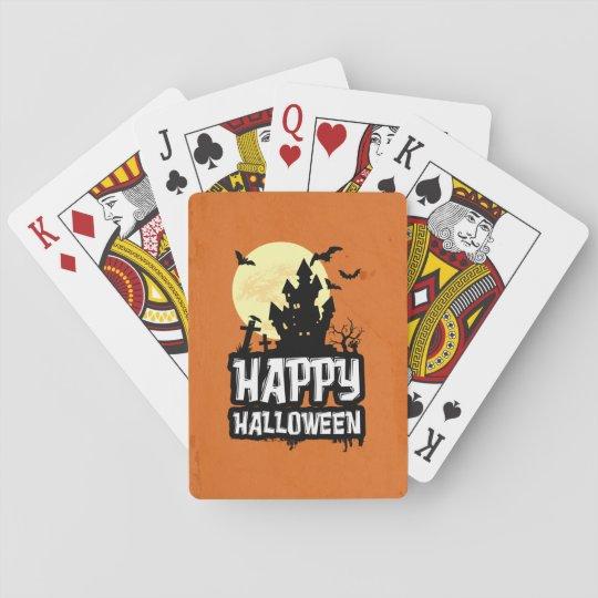 Feliz Halloween Barajas De Cartas
