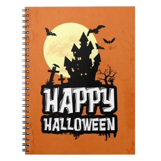 Feliz Halloween Cuaderno
