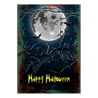 Feliz Halloween de la tarjeta Tarjetas De Visita Grandes