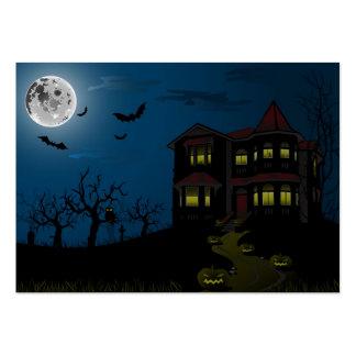 Feliz Halloween de la tarjeta Plantilla De Tarjeta Personal