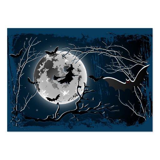 Feliz Halloween de la tarjeta Plantillas De Tarjetas De Visita